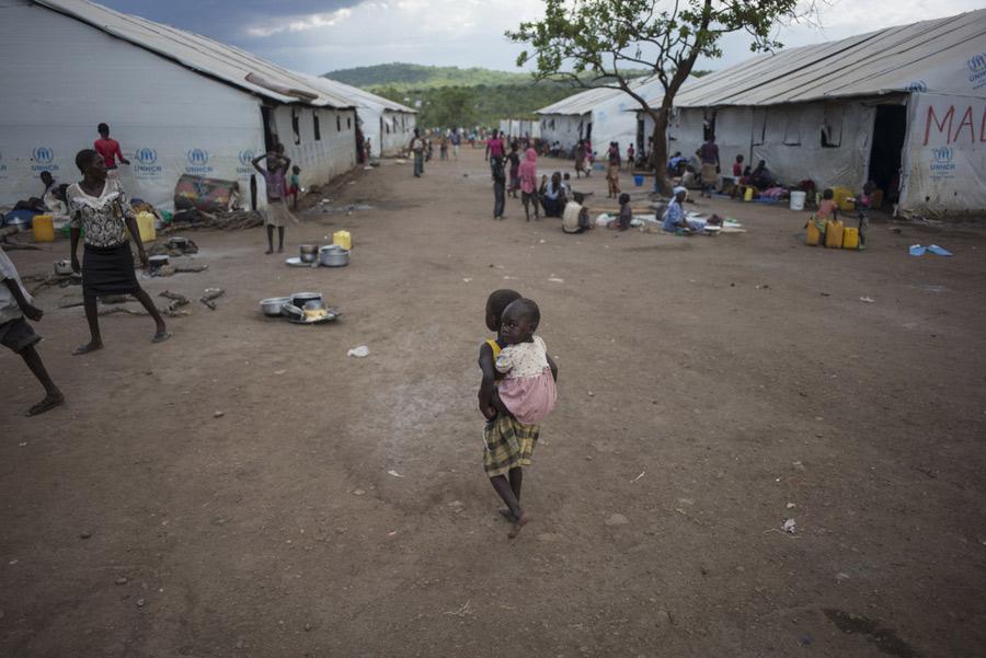 Ouvert en février 2017, le camp de réfugiés d'Imvepi a une capacité d'accueil de 110 000 personnes. Photo : Kieran Doherty/Oxfam