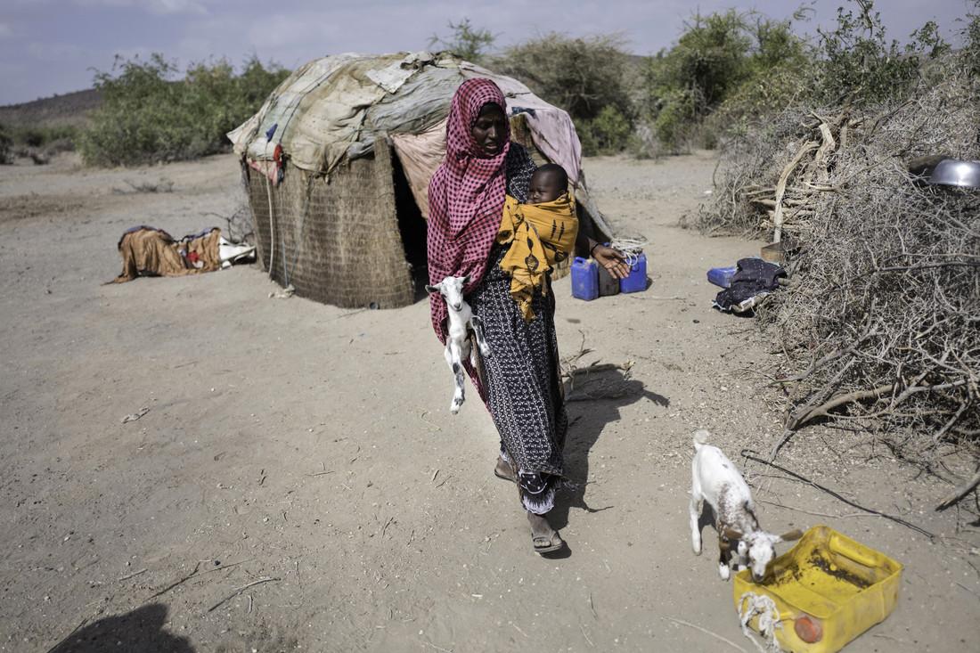 Mako et son mari Mahamud sont des agropasteurs de la région Somali, en Ethiopie.