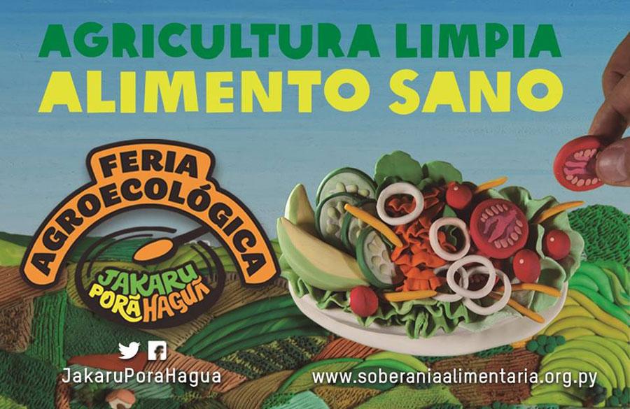 Feria Jakaru Porã Haguã: Ésta no es una feria agroecológica más