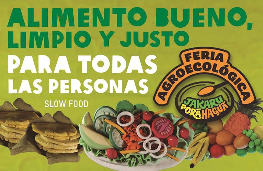 Feria Jakaru Porã Haguã: Ésta no es una feria agroecológica más.
