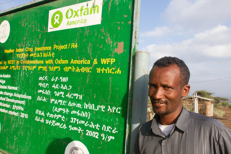 A coordinator on the R4 initiative at work in Ethiopia
