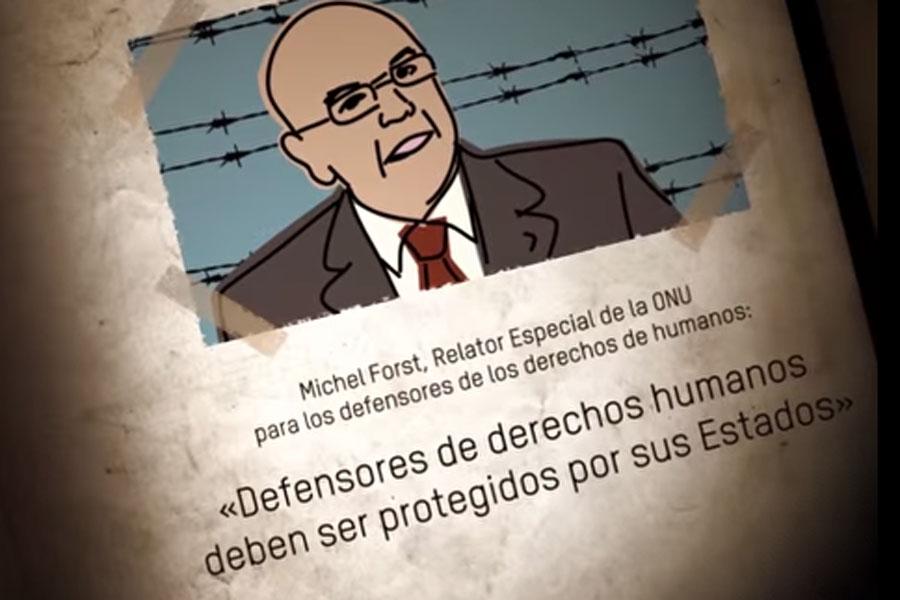 Honduras: Alto Al Riesgo, campaña de protección para los defensores de los derechos humanos. Foto: Oxfam