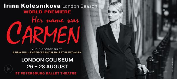 Irina Kolesnikova world premieres in Carmen.