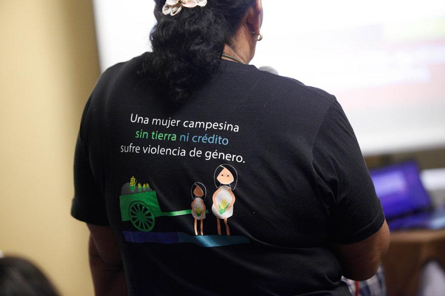 Honduras: campesinas sin acceso a tierra. Foto: Percy Ramírez / Oxfam