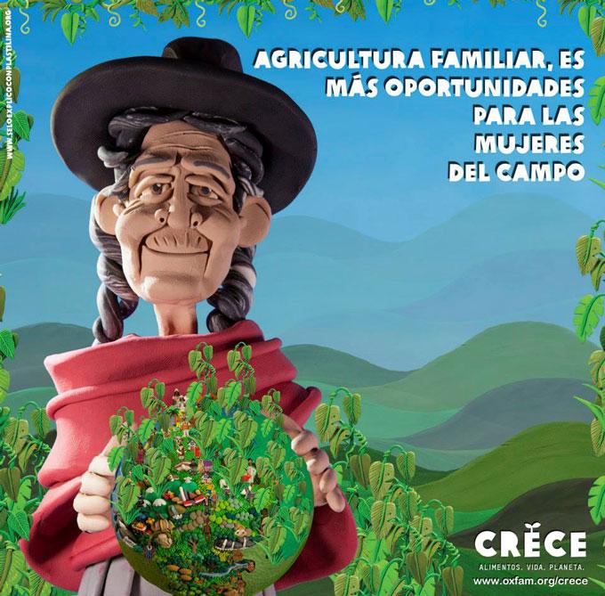 Agricultura familiar es más oportunidades pra las mujeres del campo. Foto: Esteve Toner / Oxfam