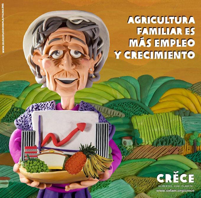 Agricultura familiar es más empleo y crecimiento. Foto: Esteve Toner / Oxfam