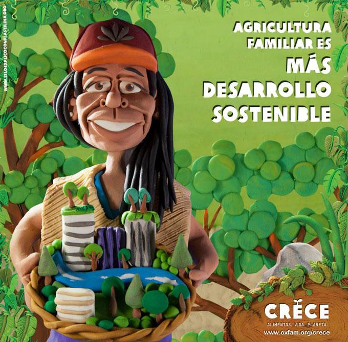 Agricultura familiar es más desarrollo sostenible. Foto: Esteve Toner / Oxfam