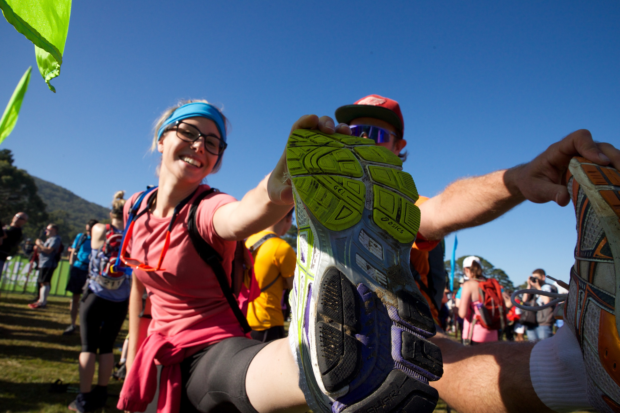Ready, set … Start Melbourne Trailwalker 2015. Photo credit: Martin Wurt / Oxfam Australia