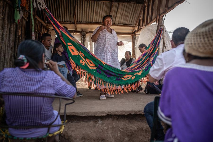 Defensora de derechos humanos, territoriales y ambientales. Foto: Pablo Tosco/Oxfam