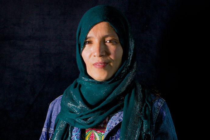 ijamal afghan woman
