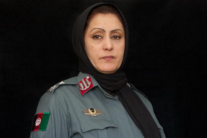 colonel jamila bayaz afghan woman