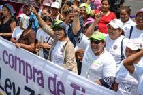 Movilización social Oxfam en Nicaragua. Foto: Oxfam