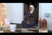 Liqaa', réfugiée syrienne au camp de Za'atari