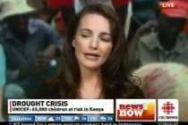 Kristin Davis describes her visit to Dadaab refugee camp (CBC News, 13 July 2011)