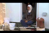 Leka'a, la vida de una refugiada siria en el campamento Za'atari