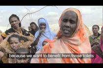 Latrine leaders in Dadaab, Kenya