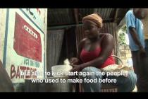 Oxfam delivers hot meals in Haiti