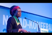 Winnie Byanyima, Excecutive Director of Oxfam - The Norad Conference 2015