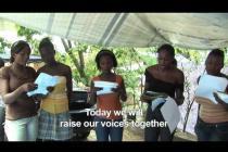 Earthquake Theater in Haiti