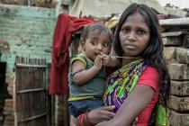 Chhatiya is a young mother who lives in an urban slum in Patna in northeast India. With her husband they were forced into debt to pay private healthcare fees for their new-born son when the public clinic was unable to provide the care he needed.