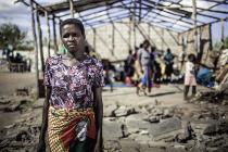 Madelema es de Buzi, una de las ciudades más afectadas por el ciclón Idai, que destruyó su casa. También es una de las muchas personas que desconoce dónde están algunos de sus familiares. (Fotografía: Micas Mondlane/Oxfam)