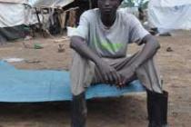 James Dafallah, Oxfam public health worker. Photo: Alun McDonald/Oxfam