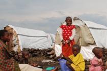 Camp de déplacés près de Goma, RDC