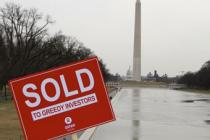 "Washington Monument: ""SOLD"". Photo: Laura Bazley"