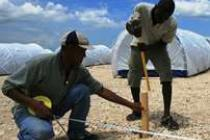 Haiti photo gallery: Preparing the Corail resettlement site