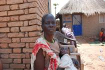 A South Sudanese IDP in Wau town, Western Bahr El Ghazal State, South Sudan