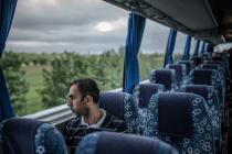 Khalil et Fatem ont fui Raqqa, leur ville natale, en 2013, avec leur fils Mohamed. Photo: Pablo Tosco/Oxfam