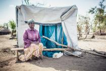 When Idai hit Buzi district, Maria Rosa Varela (56) survived with her relatives thanks to prompt action by local authorities in partnership with AJOAGO, a national humanitarian organization. Credit: Credit:Micas Mondlane/Oxfam