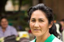 Perla María Rodríguez es vicepresidenta de la secretaría de la mujer. Foto: Oxfam