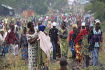Miles de personas han huído de la violencia en RDC. Foto: Marie Cacace/Oxfam