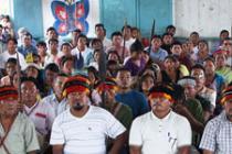 Oxfam et plusieurs autres organisations défendent le droit à la consultation et au consentement préalables, libres et éclairés en Amérique latine. Photo: Oxfam
