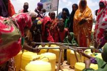 Water system in Horseed IDP settlement of Hodan district in Mogadishu, Somalia. Photo: Oxfam