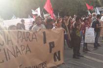 Las movilizaciones siguen para pedir que vuelvan los 43 desaparecidos en Ayotzinapa. Foto: Oxfam México