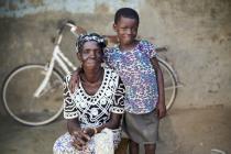 Mmalebna and her daughter Asana*. Credit: Nana Kofi Acquah/Oxfam