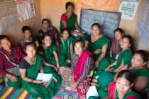 The CDCs / women's groups are the primary tool in the Raising Her Voice programme.