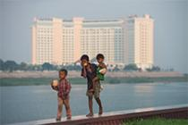 The Phnom Penh boardwalk in Cambodia's capital city. Kimlong Meng/Oxfam