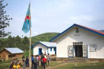 Local government office, Nyabiondo, Masisi territory, North Kivu. Photo: Phil Moore/Oxfam