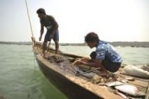 Fishermen in Kyauk Phyu. Photo: Kaung Htet