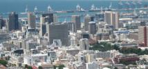 View of Cape Town, South Africa. Credit: Public Domain - http://commons.wikimedia.org/wiki/Kaapstad#/media/File:Cape_Town_Downtown.jpg