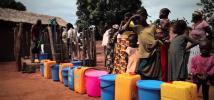 Aide humanitaire aux personnes déplacées en République centrafricaine