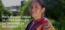 Acabemos con las violencias contra mujeres y niñas: la historia de María
