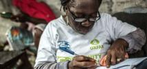 Agnes Nyantie. 42 años de edad, 5 hijos. Voluntaria