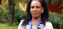 Ses efforts exemplaires pour accroître la productivité de sa ferme ont valu à Asgedech Wolde Tensay de remporter le prix des Héroïnes de l'alimentation en 2015.