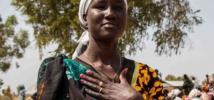 Para Nyambon, la paz es poder vivir libremente, tener opciones.