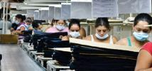 Trabajadoras en una maquila de Nicaragua. Foto: Mathieu Etienne-Gagnon / Oxfam