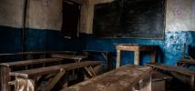 Empty primary school, Tengbeh Town